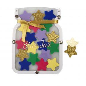 5 Pack Gold Stars