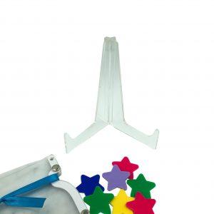 Star Jar Clear Stand